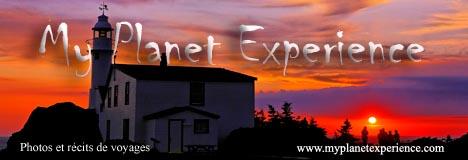 My Planet Experience : photos, banque d'images et récits de voyages en Amérique du Nord, Amérique du Sud, Afrique, Europe, Asie et Océanie...